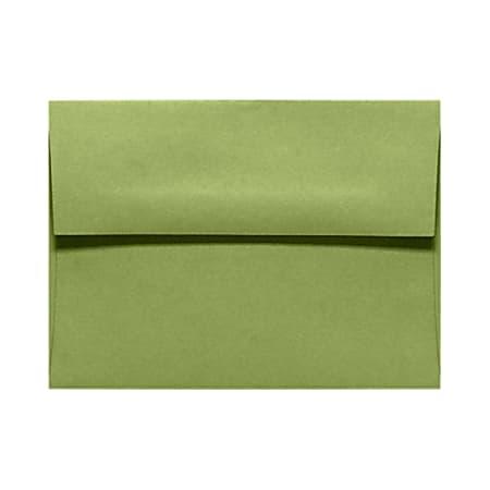 LUX Invitation Envelopes, A6, Gummed Seal, Avocado Green, Pack Of 1,000