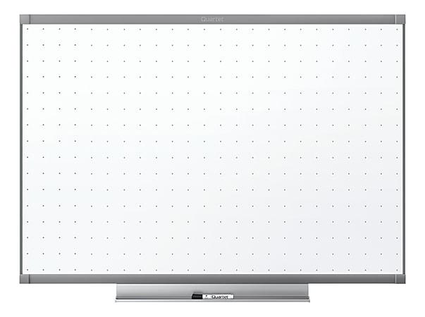"Quartet® Prestige™ 2 Total Erase® Melamine Dry-Erase Whiteboard, 24"" x 36"", Aluminum Frame With Graphite Finish"