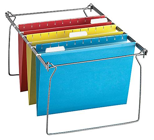 Office Depot® Brand File Frame Kit With 12 Hanging File Folders