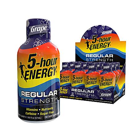5-Hour Energy™ Original Energy Drink, 2 Oz, Grape
