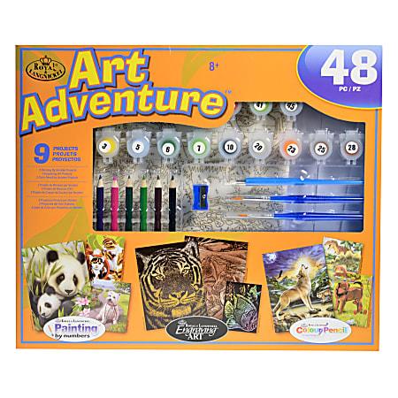 Royal & Langnickel Art Adventure Super Value Set, Orange 104 Set