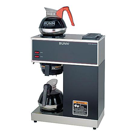 Bunn VPR 12-Cup Pourover Commercial Coffeemaker, Black
