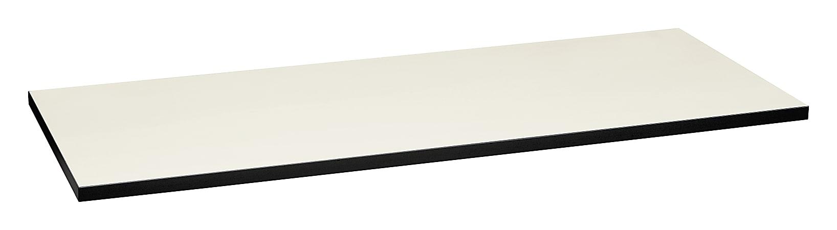 "HON Huddles Series™ Multipurpose Table Top, 60""W x 24""D, Silver/Black"