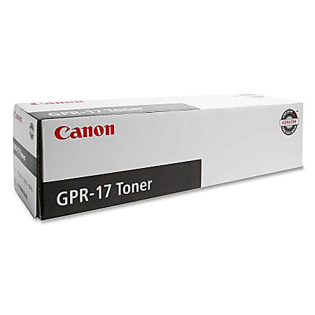 Canon GPR-17 Black Toner Cartridge (0279B003AA)