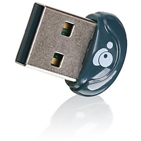 IOGEAR GBU521 Bluetooth 4.0 Bluetooth Adapter for Desktop Computer - USB - 3 Mbit/s - 2.48 GHz ISM - 30 ft Indoor Range - External