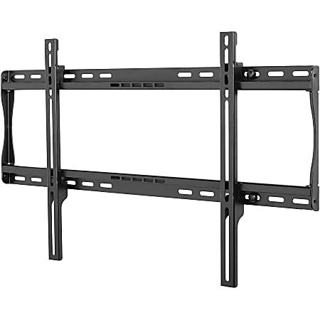 Peerless SmartMount SF650P Universal Flat Wall Mount - Steel - 175 lb - Black