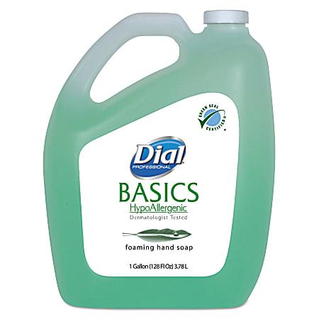 Dial® Basics Foam Hand Soap With Aloe, Fresh Scent, 128 Oz Bottle