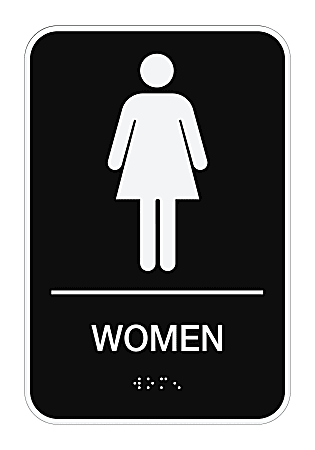 Cosco Ada Menwomen Combo Pack Restroom, Men And Women Bathroom Sign