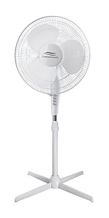 "Lakewood 16"" Oscillating Stand Fan"