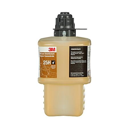 3M™ 25H HB Quat Disinfectant Cleaner Concentrate, 2-Liter Bottle