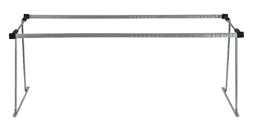 Office Depot® Brand Metal File Frame, Letter/Legal Size, Silver