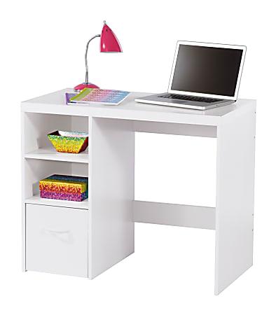 Brenton Studio Leslie Student Desk, White