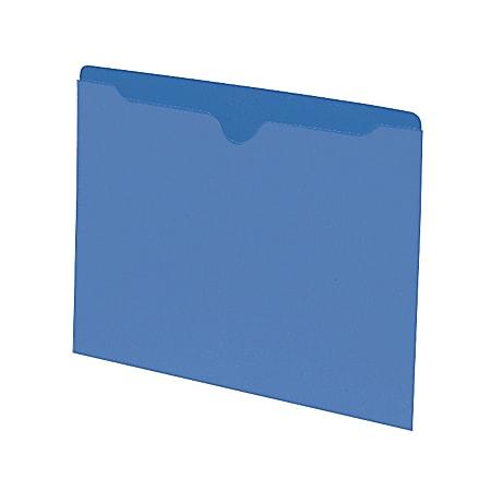 Smead® Color File Jackets, Letter Size, Blue, Pack Of 100