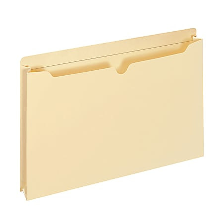 """Office Depot® Brand Manila Double-Top File Jackets, 2"""" Expansion, Letter Size, Pack Of 25 File Jackets"""