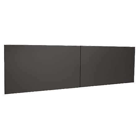 """WorkPro® Modular Flipper Door Kit, For 60"""" Stack On Hutch, Charcoal"""