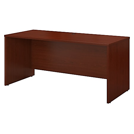 "Bush Business Furniture Components Credenza Desk 60""W x 24""D, Mahogany, Standard Delivery"