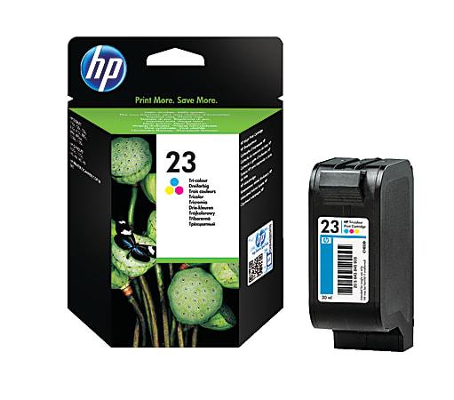 HP 23 Tricolor Original Ink Cartridge, C1823D