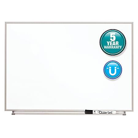 "Quartet® Matrix® Magnetic Marker Dry-Erase Board, 23"" x 16"", Aluminum Frame With Silver Finish"