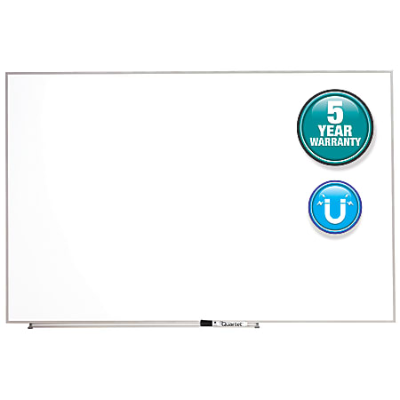 "Quartet® Matrix® Magnetic Marker Dry-Erase Board, 48"" x 31"", Aluminum Frame With Silver Finish"