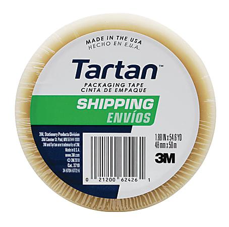 "3M™ Tartan™ 3710 General Purpose Packaging Tape, 1-7/8"" x 54.6 Yd., Clear"