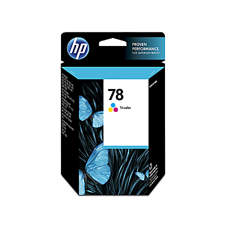 HP 78 Tricolor Original Ink Cartridge, C6578DN