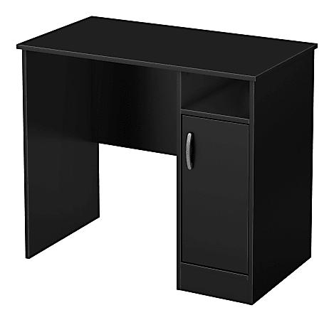 South Shore Axess Small Desk, Black