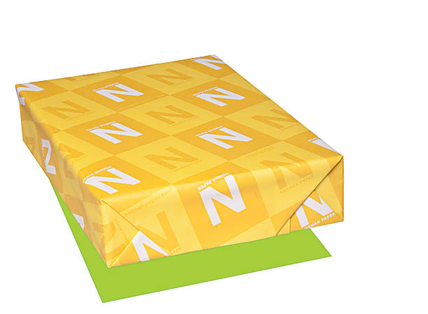 """Astrobrights® Color Paper, Letter Size (8 1/2"""" x 11""""), FSC® Certified, Terra Green, Ream Of 500 Sheets"""