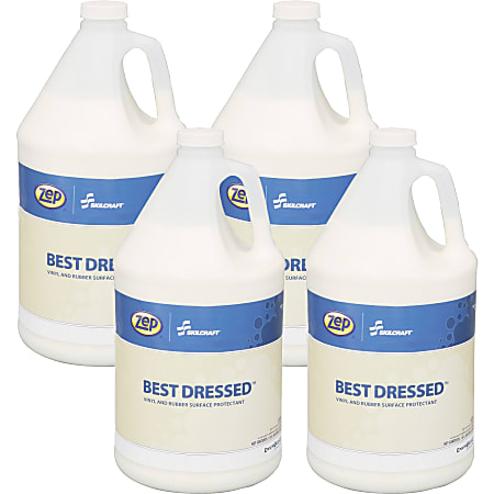 SKILCRAFT® Zep® Liquid Surface Cleaner Protectant, 128 Oz Bottle, Case Of 4 (AbilityOne 7930-01-619-1848)
