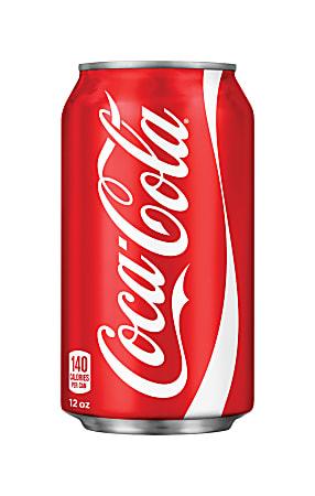 Coca-Cola Classic Soda, 12 Oz, Case Of 24 Cans