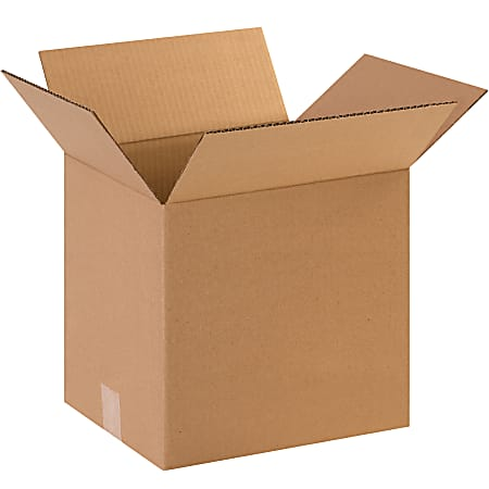 """Office Depot® Brand Corrugated Boxes, 12"""" x 8"""" x 12"""", Kraft, Pack Of 25 Boxes"""