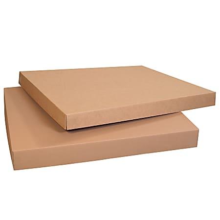 "Office Depot® Brand Heavy-Duty Gaylord Storage Lids, 4"" x 31 1/4"" x 41 1/4"", Kraft, Case Of 5"