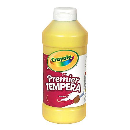 Crayola® Premier Tempera Paint, Yellow