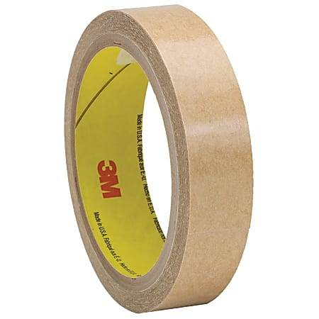 """3M™ 927 Adhesive Transfer Tape Hand Rolls, 3"""" Core, 0.75"""" x 60 Yd., Clear, Case Of 48"""