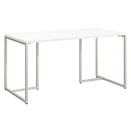 """kathy ireland® Office by Bush Business Furniture Method Table Desk, 60""""W, White, Standard Delivery"""