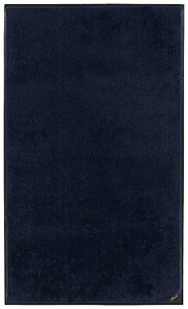 """M + A Matting Colorstar Plush Floor Mat, 36"""" x 48"""", Deeper Navy"""