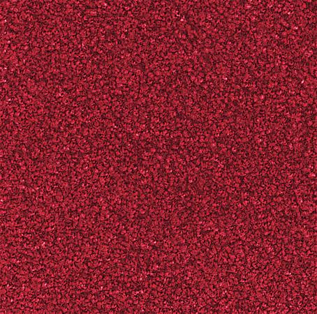 M + A Matting Stylist Floor Mat, 3' x 4', Solid Red