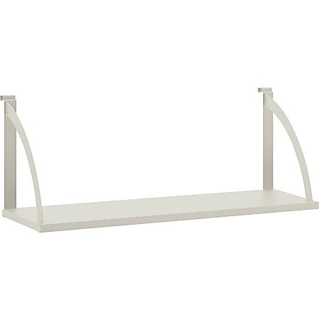 "HON Verse Hanging Shelf, 36""W - 36"" Width x 24.8"" Depth - Steel - Light Gray"