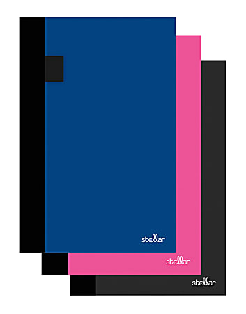 """Office Depot® Brand Stellar Academic Weekly/Monthly Planner, 8-1/2"""" x 6"""", Assorted Colors, July 2021 To June 2022"""