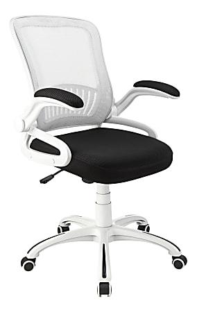 Brenton Studio® Rixie Task Chair, Black/White