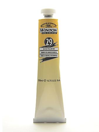 Winsor & Newton Winton Oil Colors, 200 mL, Naples Yellow Hue, 29
