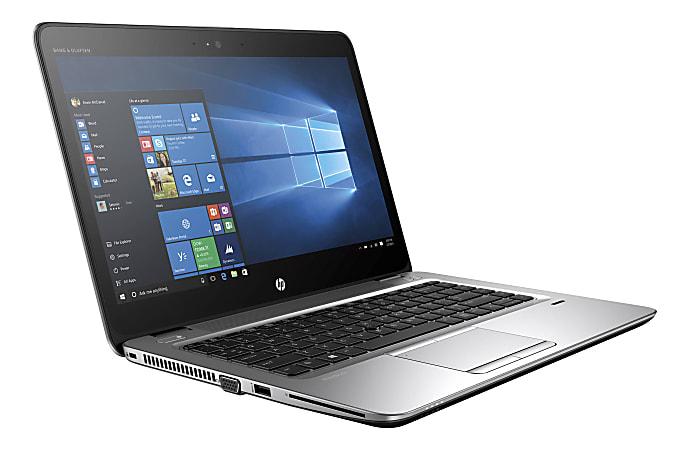 "HP EliteBook 840 G3 Refurbished Laptop, 14"" Screen, Intel® Core™ i5, 8GB Memory, 180GB Solid State Drive, Windows® 10 Pro"