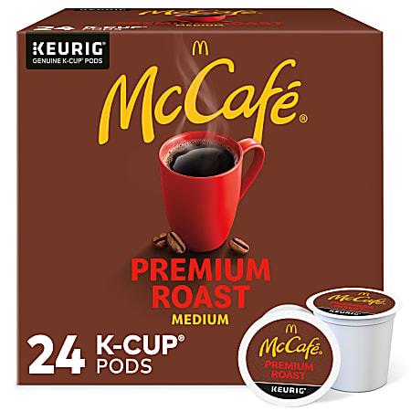 McCafe Single-Serve Coffee K-Cup®, Premium Roast, Carton Of 24