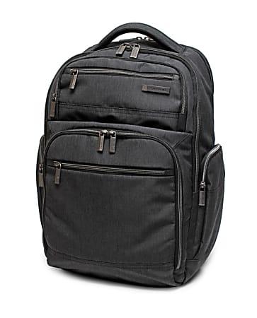 Samsonite® Modern Utility Double Shot Laptop Backpack, Charcoal Heather