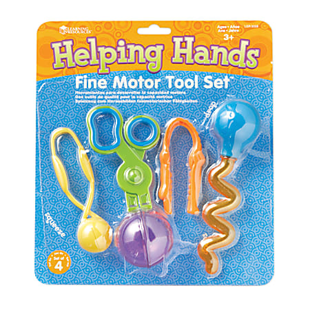Learning Resources® Helping Hands Fine Motor Tool Set™, Pre-K - Grade 3