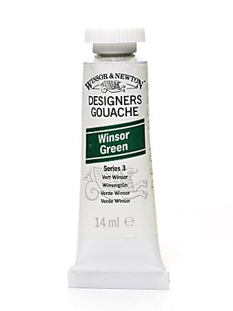 Winsor & Newton Designers' Gouache, 14 mL, Winsor Green, 720