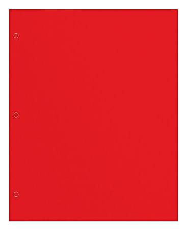 Office Depot® Brand 2-Pocket Paper Folder, Letter Size, Red