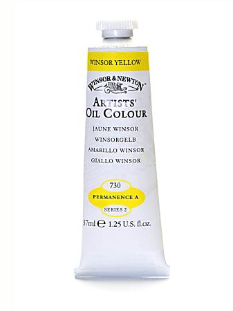 Winsor & Newton Artists' Oil Colors, 37 mL, Winsor Yellow, 730