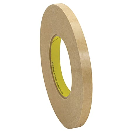 """3M™ 9498 Adhesive Transfer Tape Hand Rolls, 3"""" Core, 0.5"""" x 120 Yd., Clear, Case Of 72"""
