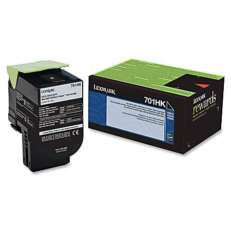 Lexmark™ 70C1HK0 High-Yield Black Toner Cartridge