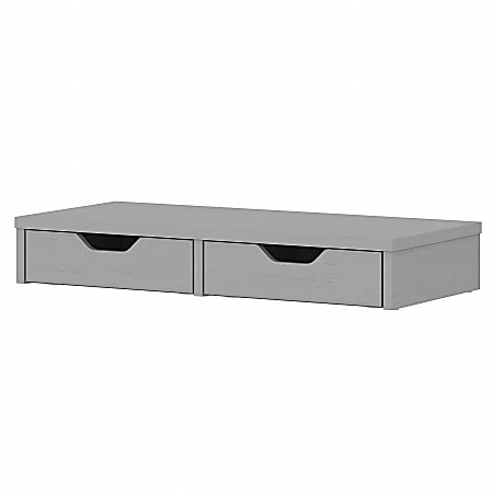 Bush Furniture Fairview Desktop Organizer With Drawers, Cape Cod Gray, Standard Delivery